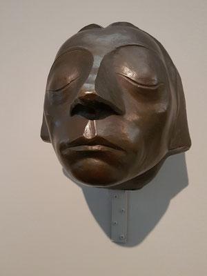 """Kopf des """"Güstrower Ehrenmals"""", 1927. Bronze (Guss vor 1938)"""
