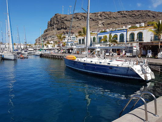 Puerto de Mogán, 1983 – 1988 nach Entwürfen von Raphael Neville gebaut
