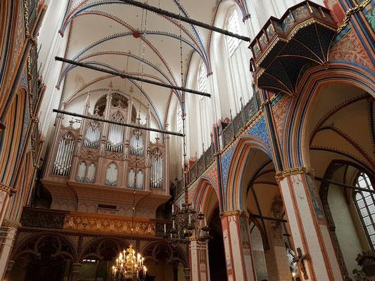 Gotische Kirche Sankt Nikolai, 1276 erstmals urkundlich erwähnt, Buchholz-Orgel 2007