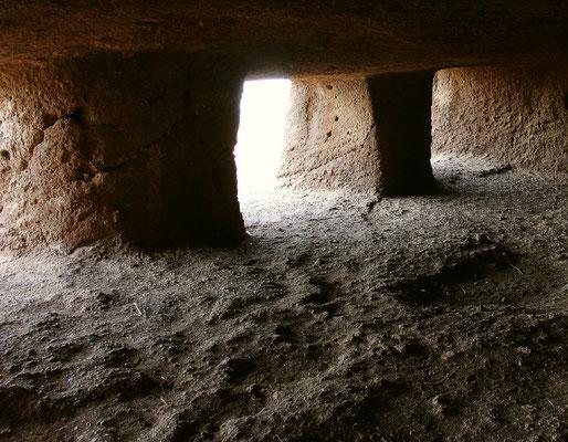 Montaña de las Cuatro Puertas, im Innern der Haupthöhle