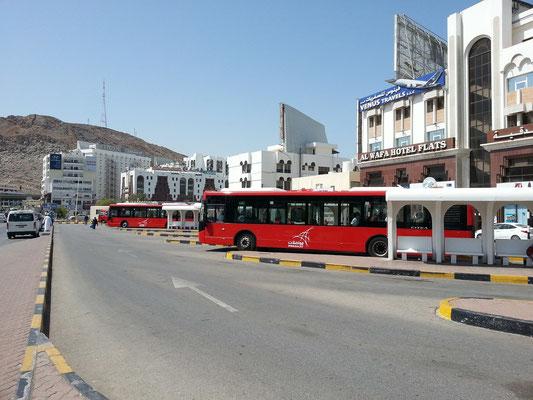 Busbahnhof in Ruwi
