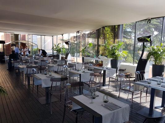 Restaurant der Terrazza Caffarelli