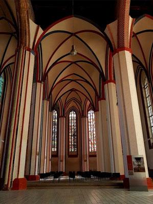 St. Marienkirche, heute ein Kulturzentrum, Chorraum
