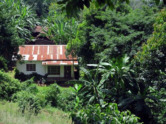 Wohnhaus bei Marangu