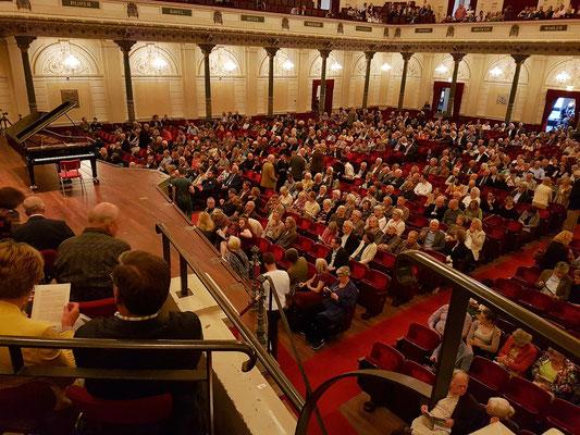 Blick von meinem Sitzplatz: Podium Zuid, Reihe 5, Sitz 16 (57 €, 65+, Category 1)