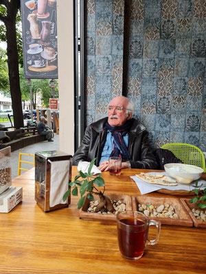 Im Restaurant Snaubar