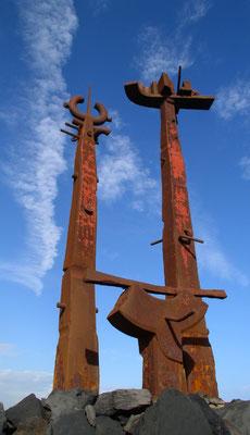 Costa Teguise, Skulptur von José Abad