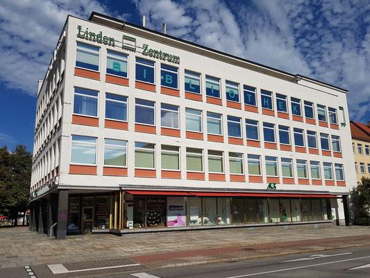 Lindenzentrum, Geschäftshaus, Südseite