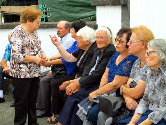 Dorffest in Salao, Frauengruppe
