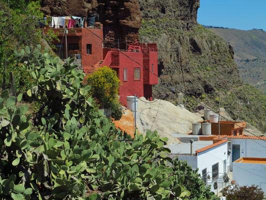 Höhlenwohnungen nahe der Ermita de la Cuevita