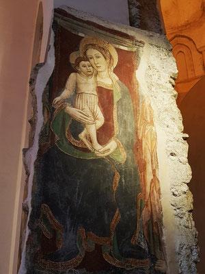 Fresko in der Kruzifixbasilika