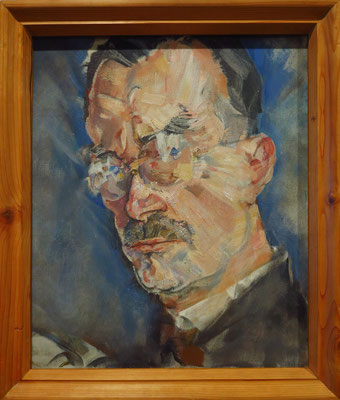 Max Oppenheimer (1885-1954): Porträt Thomas Mann, 1926, Öl auf Leinwand