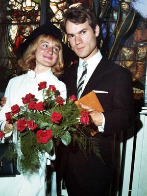 Hochzeit Almut und Frank, 31.7.1968 im Rathaus Bergisch Gladbach