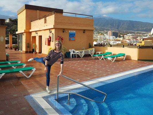 Hotel Marquesa, unser Doppelzimmer C 600 auf dem Dach