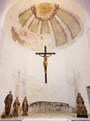 Die Kruzifixbasilika, heute ein Museum für sakrale Kunst, geht auf das Jahr 596 zurück.