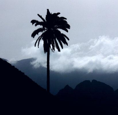Wolkenstimmung in den Bergen von La Gomera