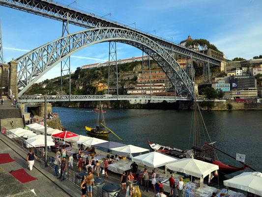 Douro mit Ponte Luís I