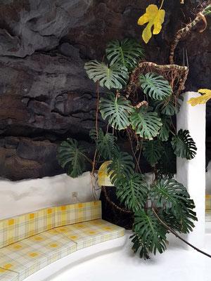 Gelbe Grotte, bevorzugter Ort Manriques für Begegnungen mit Freunden