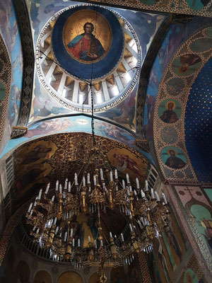 Sioni-Kathedrale, Blick in die Kuppel