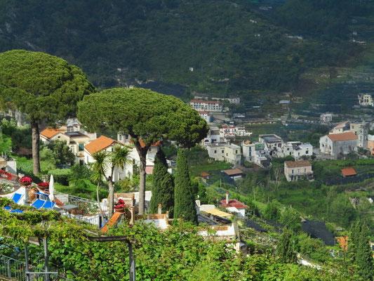 Blick auf den unteren Teil von Ravello