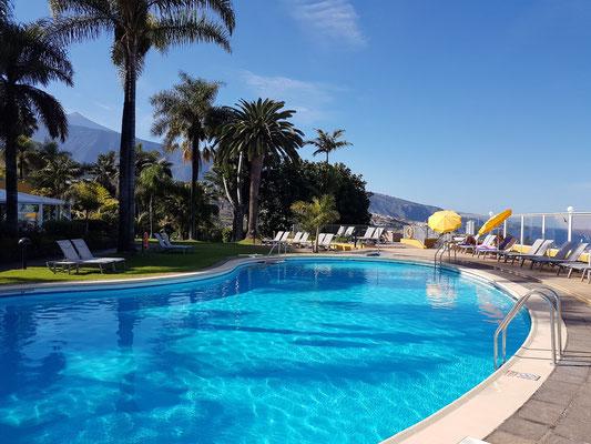 Schwimmanlage des Hotels Tigaiga