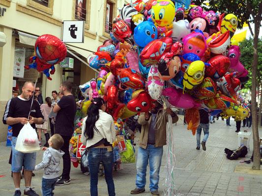 Einkaufsstraße Ledras in der südlichen Altstadt