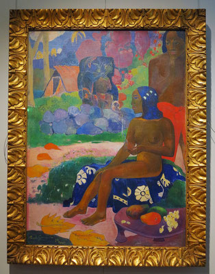 "Paul Gauguin (1848 - 1903): ""Ihr Name war Vairaumati"" (Vairaumati tei oa), 1892"
