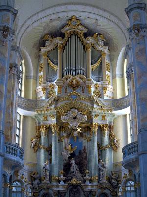 Altar in der Frauenkirche