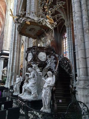 St.-Bavo-Kathedrale, Kanzel