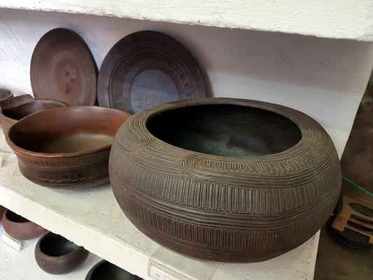 Keramikwerkstatt von Ramón y Vina. Reproduktionen der Keramikarbeiten der Ureinwohner