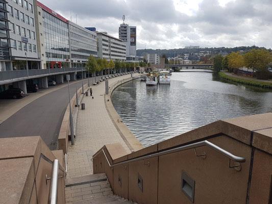 Berliner Promenade am Saarufer