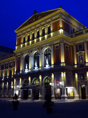 Konzerthaus des Wiener Musikvereins,  Musikvereinsplatz 1