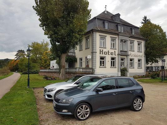Villa Keller, charmantes Hotel mit Blick auf die Saar, Gebäude aus dem Jahr 1801
