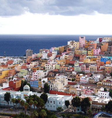Umschlagvorderseite: Las Palmas, Stadtviertel San Juan