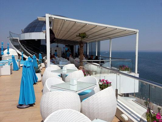 Hotel Nemo, Dachgarten-Lounge