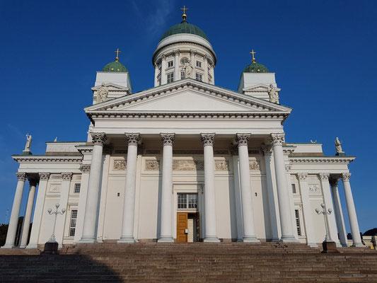 Dom von Helsinki, das bekannteste Wahrzeichen der Stadt, 1830 - 1852