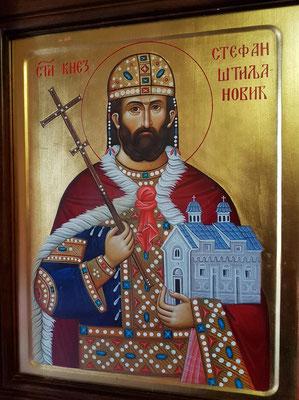 Ikone in der Kirche Praskvica