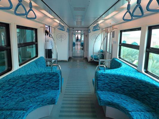 Innenraum der Monorail