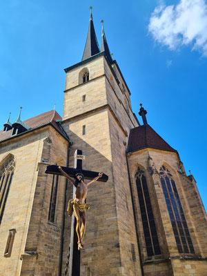 Ostfassade der Katholischen Kirche Sankt Severi