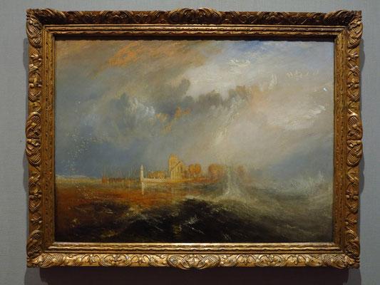Museu Calouste Gulbenkian, William Turner: Quilleboef, Seinemündung, England 1833, Öl auf Leinwand