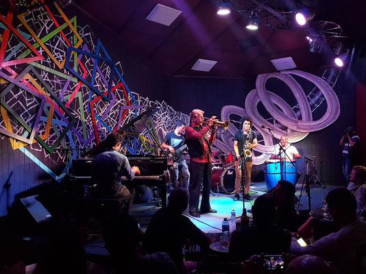 Bobby Carcassés mit Band im Iris Jazz Club am 20.1.2018