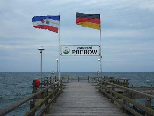 Seebrücke von Prerow