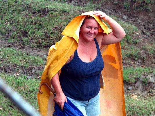 Schutz gegen den Regen