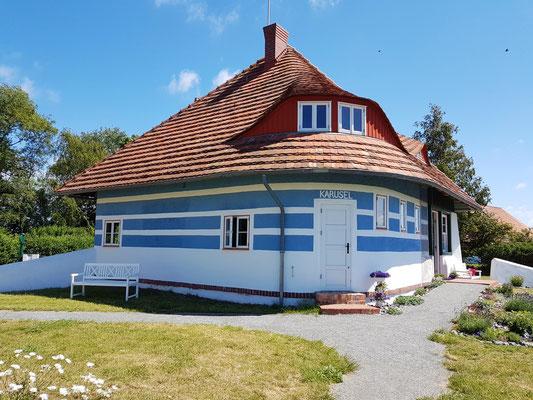 Asta-Nielsen-Haus, erbaut 1923 von Max Taut. Sommerhaus der dänischen Schauspielerin Asta Nielsen
