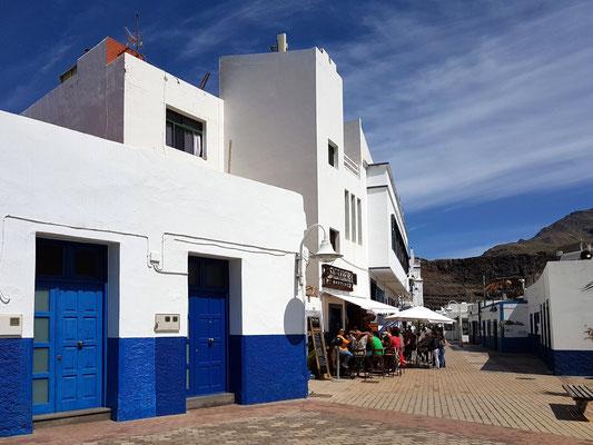 Puerto de las Nieves mit Fischrestaurants