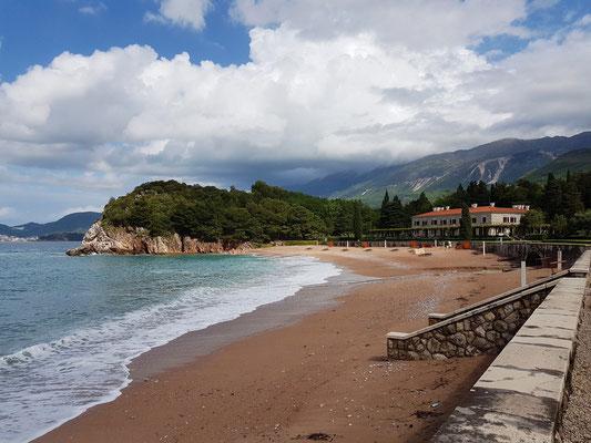 Villa Miločer mit Strand