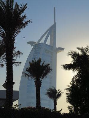 Burj al Arab, Blick vom Public Beach