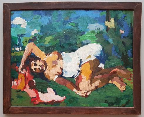 Oskar Kokoschka (1886-1980): Sommer I, 1922, Öl auf Leinwand