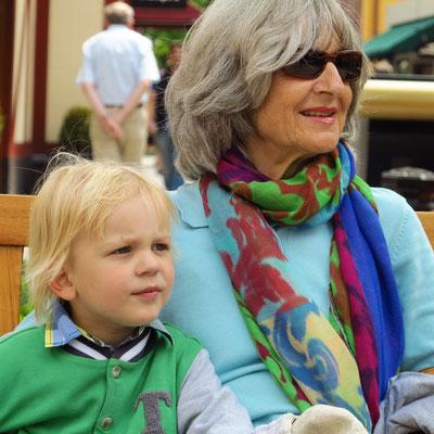 Almut und Alexander beim letzten Ausflug nach Roermond, 11.06.2013
