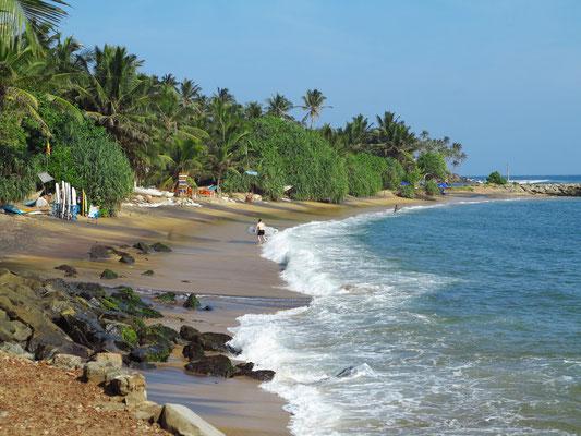 Am Strand von Mirissa